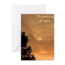Greeting Cards (Pk of 10) - Thinking blank inside