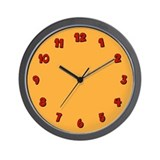 Fleeting Expletive Wall Clock