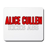 Alice Cullen Kicks Ass Mousepad