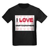 I LOVE CRYPTOGRAPHERS T