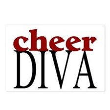 Cheer Diva Postcards (Package of 8)