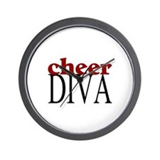 Cheer Diva Wall Clock