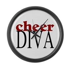 Cheer Diva Large Wall Clock
