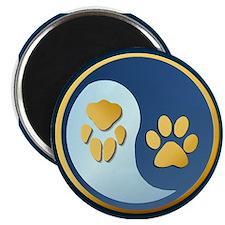 Pet Paw Yin Yang Magnet