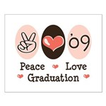 Peace Love 09 Graduation Small Poster