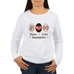 Peace Love 09 Graduation Women's Long Sleeve Tee