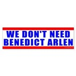 Benedict Arlen Specter Bumper Sticker