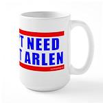 Benedict Arlen Specter Large Mug