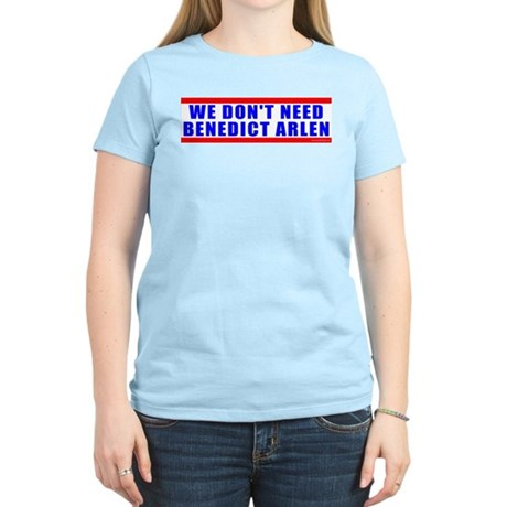 Benedict Arlen Specter Women's Light T-Shirt