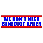 Benedict Arlen Specter Bumper Sticker (50 pk)
