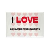 I LOVE CONSUMER PSYCHOLOGISTS Rectangle Magnet (10