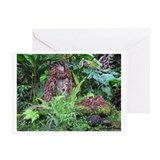 Unique Hawaiian romance Greeting Card