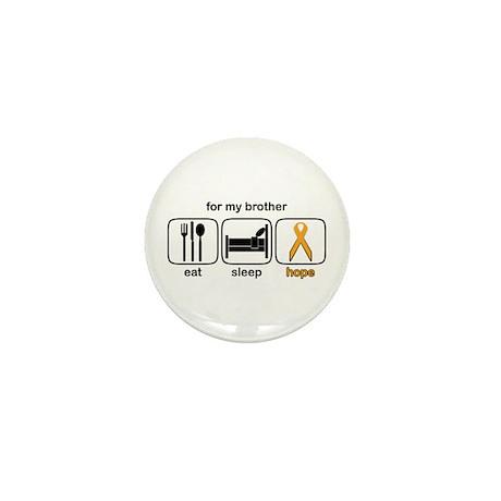 Brother ESHope Leukemia Mini Button