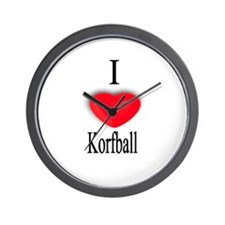 Korfball Wall Clock
