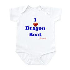 I love dragon boat Onesie