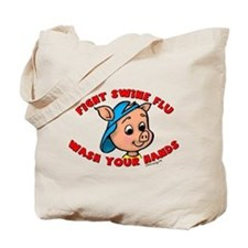 Swine Flu Tote Bag