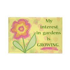 GARDENS GROWING Rectangle Magnet (10 pack)