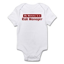 Mom is a Risk Manager Infant Bodysuit