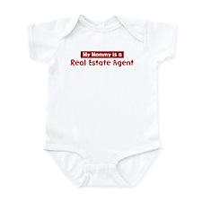 Mom is a Real Estate Agent Infant Bodysuit