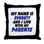 my name is everett and I live with my parents Thro