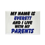 my name is everett and I live with my parents Rect