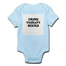 URINE THERAPY  ROCKS Infant Creeper