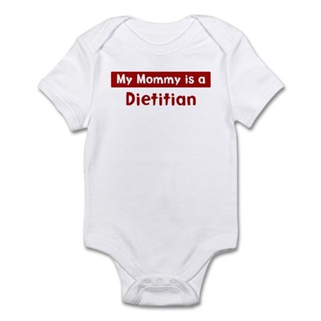 Mom is a Dietitian Infant Bodysuit