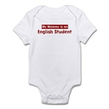 Mom is a English Student Infant Bodysuit