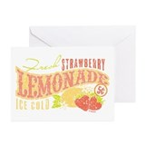Strawberry Lemonade Greeting Cards (Pk of 10)