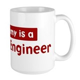 Mom is a Ceramic Engineer Mug