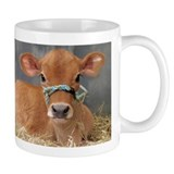 Cute Jersey Calf Small Mugs