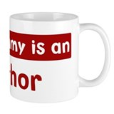 Mom is a Author Mug