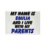 my name is emilia and I live with my parents Recta