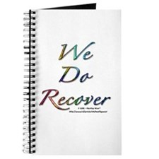 """We Do Recover"" Journal"