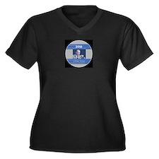 2010 Specter Women's Plus Size V-Neck Dark T-Shirt