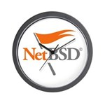 NetBSD Devotionalia Wall Clock