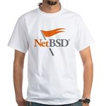 NetBSD Devotionalia White T-Shirt