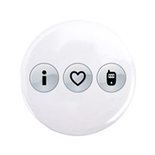 "i (heart) sexting 3.5"" Button (100 pack)"
