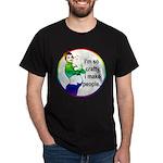 i'm so crafty, i make people rainbow Dark T-Shirt