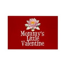 Mommy's Little Valentine Rectangle Magnet