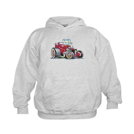 Little red T Bucket Kids Hoodie