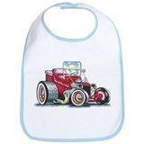 Little red T Bucket Bib
