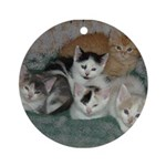 Kittens Ornament (Round)