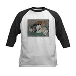Kittens Kids Baseball Jersey