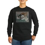 Kittens Long Sleeve Dark T-Shirt