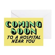 Coming Soon Greeting Cards (Pk of 10)