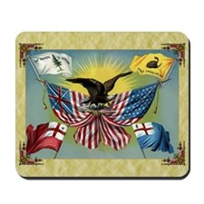 Patriotic Flag Mousepad