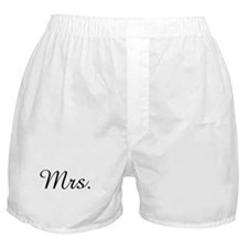 Mrs. Boxer Shorts