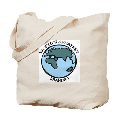 Greatest Grandpa Tote Bag