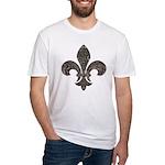 Fleur De Lid Fitted T-Shirt